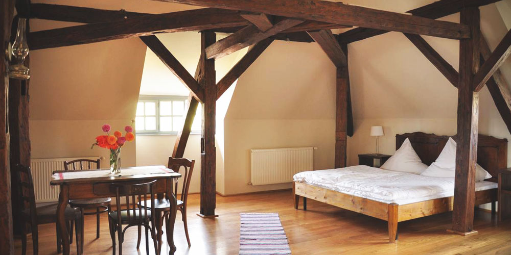 Big attic room